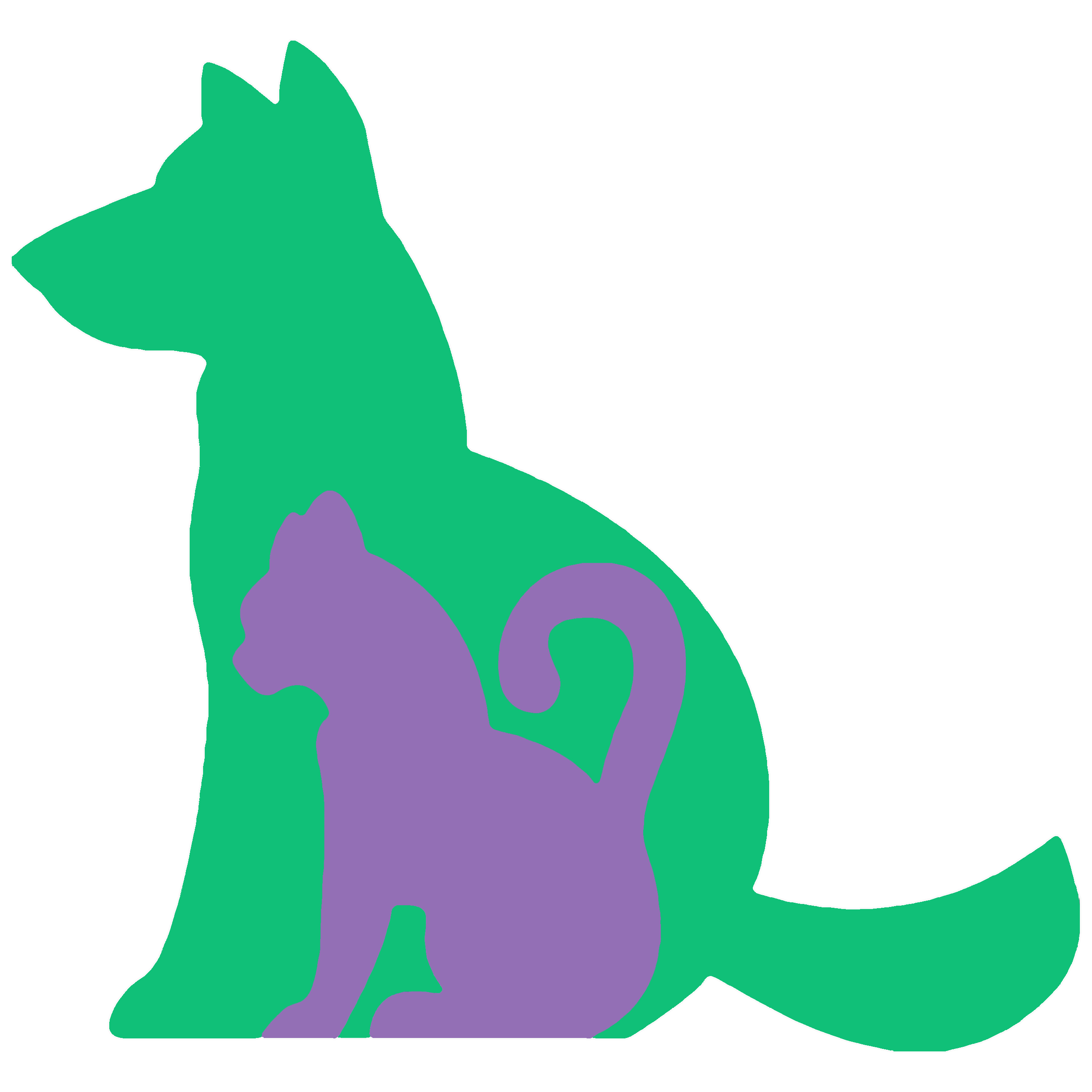 Wags Animal Logo
