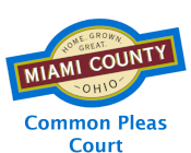 Miami County Logo for Common Pleas