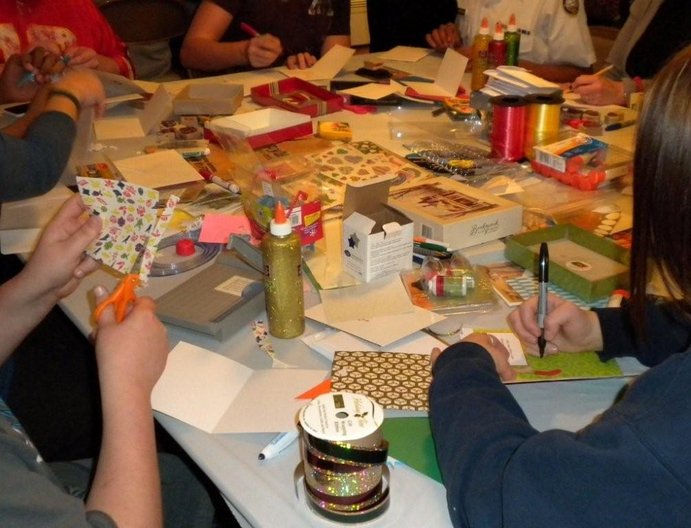 Card Making for Soldiers